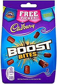 Original Cadbury Boost Bites Chocolate Candy Bag Imported From The UK England The Best Of British Chocolate