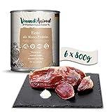 Venandi Animal - Pienso Premium para Gatos - Pato como monoproteína - Completamente Libre de Cereales - 6 x 800 g