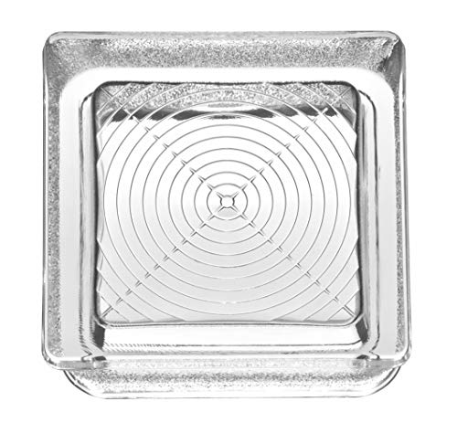Cristal de ladrillo Pedonable a taza transparente DS CUP 14,5 x 14,5 x 5,5 – 10 unidades