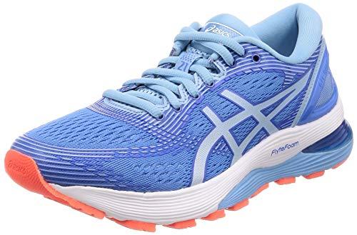 Asics Gel-Nimbus 21, Zapatillas de Running para Mujer, Azul (Blue Coast/Skylight 400), 38 EU