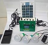 Belifal Solar Home Lighting System Set (green)