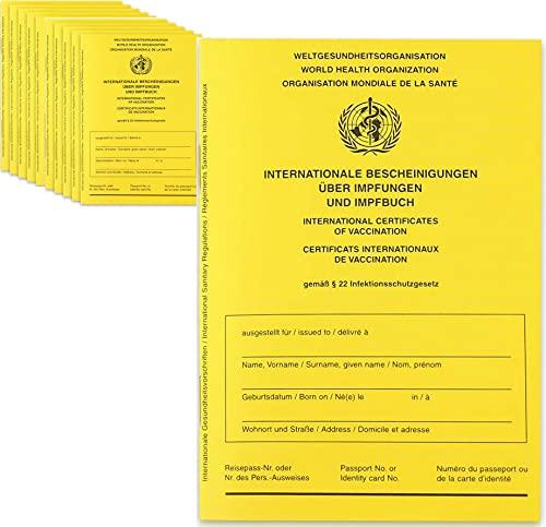 ROYAL TREE Internationaler Impfpass - NEUE AUSGABE 2021 Impfausweis