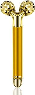 ビューティーバー 美容ローラー 小顔ローラー 黄金棒 24K 3D 振動美容器 超音波美顔器 小顔 Vフェイスケア Y字型 美肌 Beauty Bar