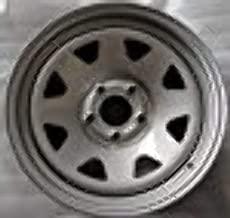 New 16 Inch 5 on 4.5 Spoke Steel Wheel Rim Fits Wrangler Ranger Steel Spoke 167545SS