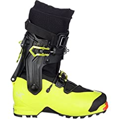 Shell Material: Grilamid Sole: Dual Density Vibram Sole and Molded Rubber Toecap Liner: Arc'teryx Procline Support Liner–Extremely light liner focused on uphill travel with thermomoldable EVA foam Fit: Average Width Last Stance: Forward Lean – 14˚ ...