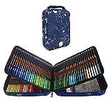 Juego de 120 Lapices Colores Profesionales para Adultos Niños Artistas, Serie de calidad y con minas de colores vibrantes, Ideal para Colorear, Mandalas Colorear Adultos, Material Escolar
