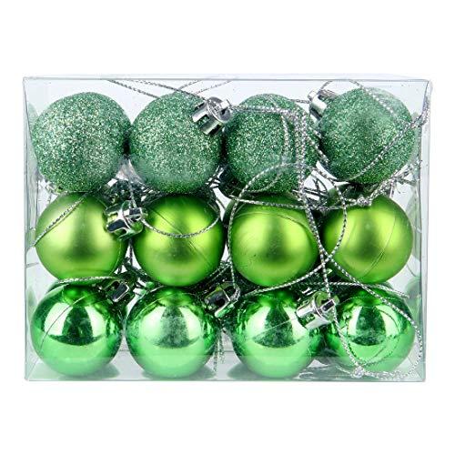 DomoWin Bolas de Navidad, Bolas para árbol de Navidad Decoración de Bolas de Navidad Inastillable Decoración del...