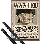 1art1 One Piece Poster (91x61 cm) Wanted Roronoa Zoro