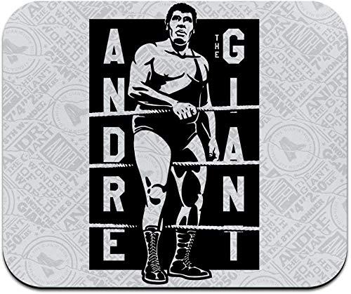 WWE Andre Der Riese Riese Stempel Low Profile Dünne Mauspad Mousepad
