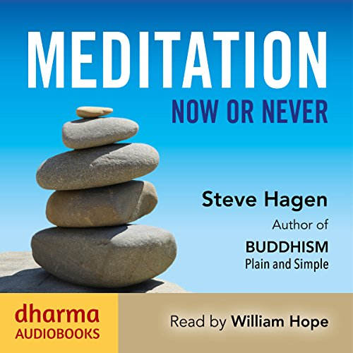 Meditation Now or Never cover art