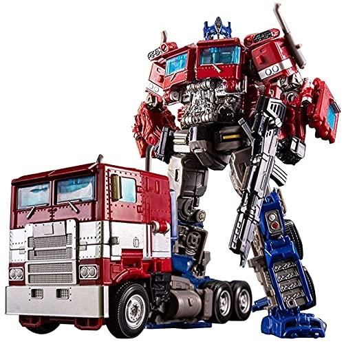 TREEMEN Transformers of Optimus Prime, übergroße Optimus Prime-Actionfigur, Dark Commander Optimus Prime für Jungen, Transformers Generations,Birthday Gift