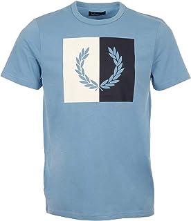 ccf0de5dfaf82 Fred Perry T-Shirt avec Couronne De Laurier