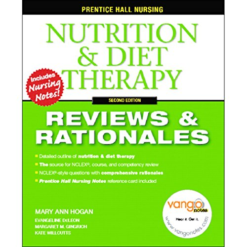VangoNotes for Nutrition & Diet Therapy audiobook cover art