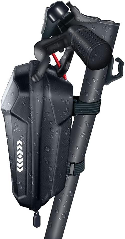 TMOM - Bolsa para patinete eléctrico, bolsa de almacenamiento para Xiaomi Mi Mijia M365, Sedway Ninebot E ES1 ES2 ES3 ES4 EVA carcasa dura, bolsas de manillar impermeables (2 L)