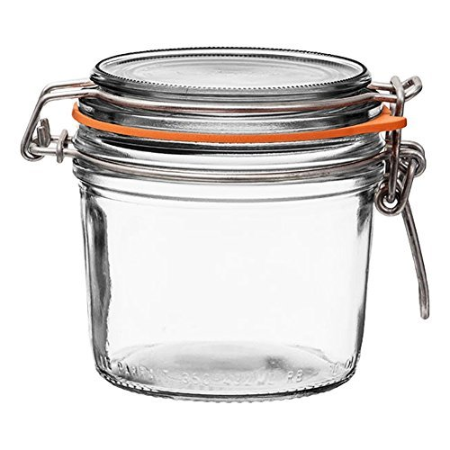 Wire Lid Canning Jar
