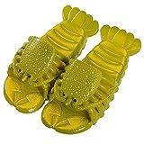 Kirin-1 Zapatillas De Mujer Baratas,Menores De Verano Y Mujeres Amantes Zapatos De SueñO Padre-NiñO Langosta Zapatillas-28-29 Yardas 17cm_Verde