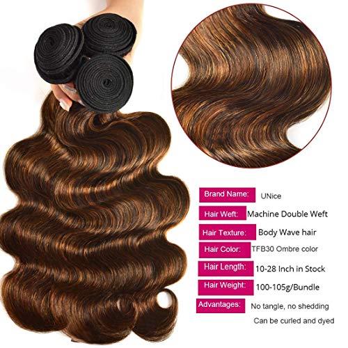 Brown blonde weave _image3