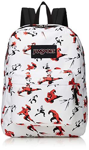JanSport Incredibles Superbreak Backpack - Incredibles Mr. Incredible