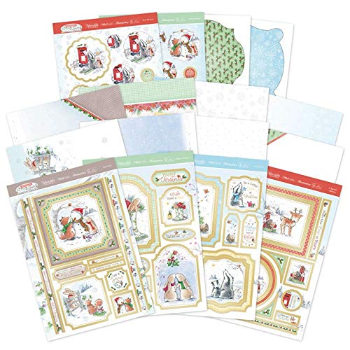 Hunkydory Crafts Christmas in Acorn Wood Luxury Card Collection