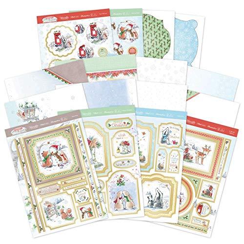 Hunkydory Crafts Weihnachtskarten aus Eichelholz
