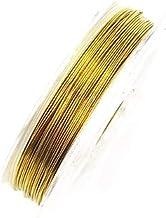 Alambre de cobre de aluminio de calidad de 10 metros para bisutería, 10 m, 0,4 mm, 1 mm, 1,5 mm y 2 mm, 20 colores a elegir, dorado, 0.4 mm