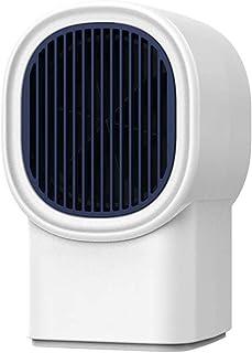 LTLJX Calefactor de Baño, Eléctrico Calentacdor Ventilador Silence Rápido Calentamiento Antivuelco Protección Sobrecalentamiento para Espacio Pequeño Dormitorio Oficina Hogar,Blanco