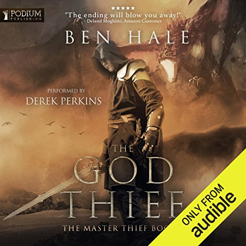 The God Thief audiobook cover art