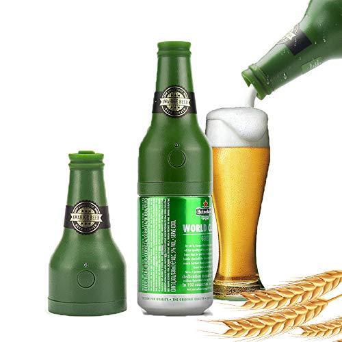 Macchina per schiumare la birra in scatola ad onde ultrasoniche, latte di birra come schiuma di dimensioni palmare, miscelatore portatile per bevande, accessori divertenti per birra, gadget da cucina