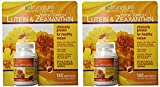 Trunature Vision Complex Lutein and Zeaxanthin Supplement, 140 Count (2 Packs)