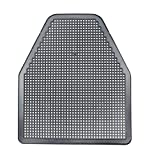 SaniPro 1452-BNT Urinal Mat, Black (Pack of 6)