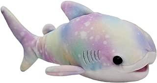 Mochi Puni Shark Plush Toy Super Soft Stuffed Animal Galaxy Rainbow Aquarium Collection 8 Inches
