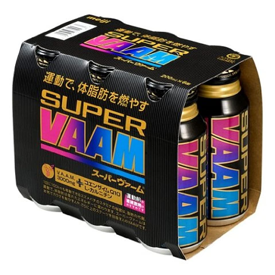 帰する実施する首VAAM(ヴァーム) スーパーヴァーム(6本パック)×5パック