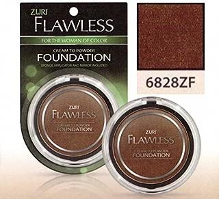 Zuri Flawless Cream to Powder Foundation - Dusk (Pack of 6)