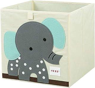 WPCASE Panier Tissu Panier Rangement Enfant Boite De Rangement Tissu Cube De Rangement Tissu Paniers De Rangement Petit Pa...
