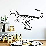 wZUN Lindo Dinosaurio decoración del hogar Pegatinas de Pared decoración Sala de Estar Dormitorio Mu...