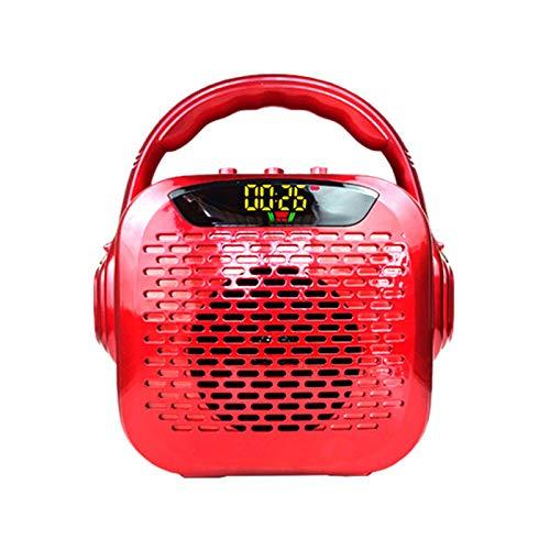 Altavoz Bluetooth Portátil Inalámbrico, Control Remoto Tarjeta TF Disco AUX Difusión Bocina De Gran Calibre Función FM Micrófono Inalámbrico Altavoz, Fiestas Al Aire Libre En Casa Altavoces De Viaje