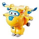 Alpha Animation & Toys- Transforming Super Wings YW710020 Mini Transform a Bots Donnie Plane, Color azul, naranja ( , color/modelo surtido