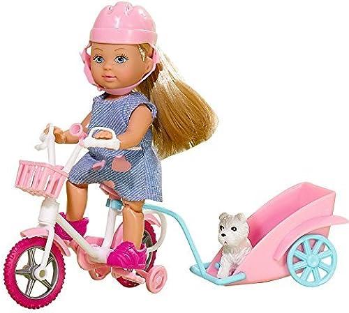 Hay más marcas de productos de alta calidad. SIMBA Bambola Evi Evi Evi Bike Tour con Cucciolo 2modelli (Sogg.casuale) 30783 by Simba  precios mas baratos