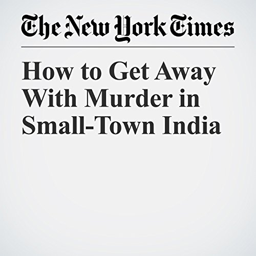 How to Get Away With Murder in Small-Town India copertina