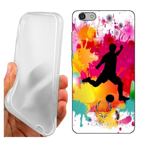 Custodia Cover Case Calcio per Huawei G Play Mini