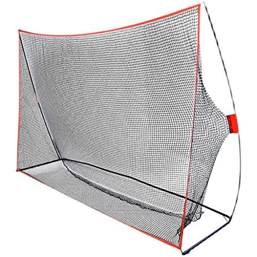 Red de Entrenamiento de Golpe de béisbol con Soporte, Redes de Interior, Equipo de práctica de Swing para Principiantes