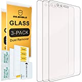 [3-PACK]- Mr.Shield Designed For Huawei P9 [Tempered Glass] Screen Protector [0.3mm Ultra Thin 9H Hardness 2.5D Round Edge] with Lifetime Replacement