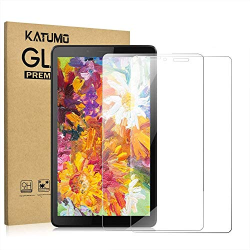 [2 Pack] KATUMO Screen Protector for Lenovo Tab M7 7 inch (TB-7305F) Tempered Glass Film Protective Screen for Lenovo Tab M7 TB-7305F