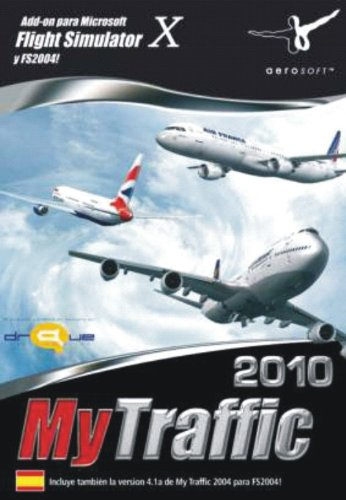 Extension de Flight Simulator My Traffic 2010 FS-X y 2004 PC, en Español