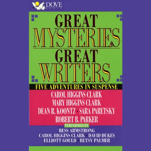 Great Mysteries, Great Writers audiobook cover art