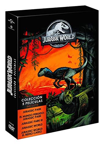 Parque Jurásico 1-5 DVD