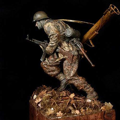CHOUDOUFU Escultura Estatua Decoración 1/16 Panzergrenadier 1944-1945, Figura De Resina De Soldados Gk, Tema Militar De La Segunda...