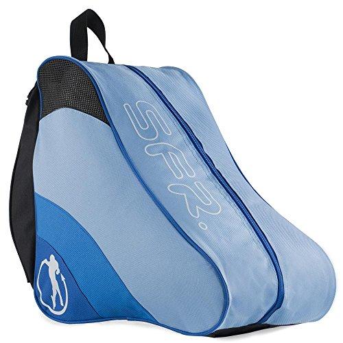 Sfr Skates Ice & Skate Bag II, Unisex-Erwachsene Stofftasche, Blau (Blue), 24x15x45 cm (W x H L)