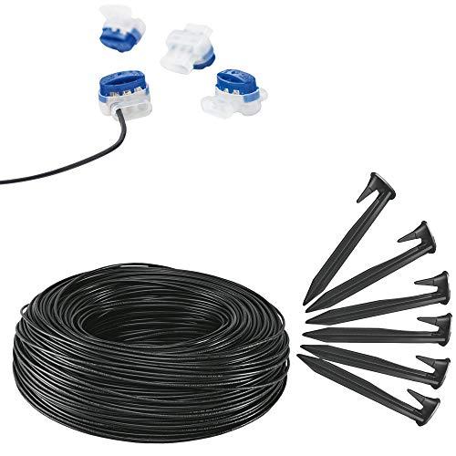 Verlegeset (150 m Schleifendraht, 90 Nägel, 5 Kabelverbinder) für AL-KO Robolinho® Mähroboter