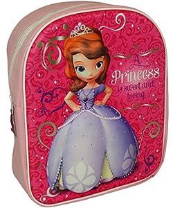 Mochila Colegial 3d Princesa Sofia